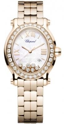 Chopard Happy Sport Oval Quartz 275350-5004