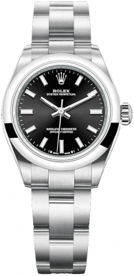 Rolex Oyster Perpetual 28mm 276200 Black