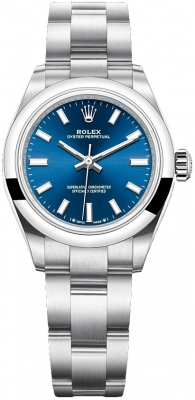 Rolex Oyster Perpetual 28mm 276200 Blue