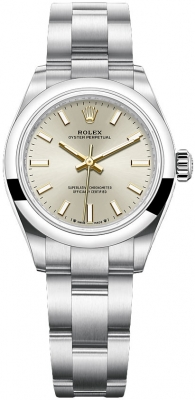 Rolex Oyster Perpetual 28mm 276200 Silver