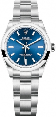 Rolex Oyster Perpetual 31mm 277200 Blue