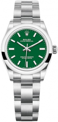 Rolex Oyster Perpetual 31mm 277200 Green