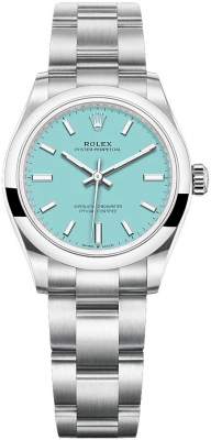 Rolex Oyster Perpetual 31mm 277200 Turquoise Blue