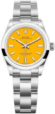 Rolex Oyster Perpetual 31mm 277200 Yellow