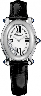 Chopard Happy Sport Oval 5 Floating Diamonds 277465-1005