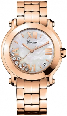Chopard Happy Sport Round Quartz 36mm 277472-5002
