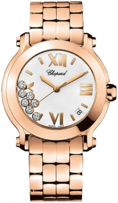 Chopard Happy Sport Round Quartz 36mm 277472-5001