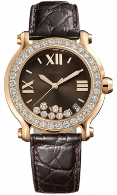 Chopard Happy Sport Round Quartz 36mm 277473-5008