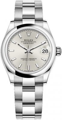 Rolex Datejust 31mm Stainless Steel 278240 Silver Index Oyster