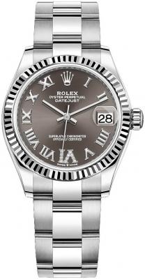Rolex Datejust 31mm Stainless Steel 278274 Dark Grey VI Oyster