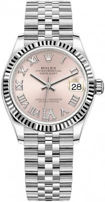 Rolex Datejust 31mm Stainless Steel 278274 Pink VI Jubilee