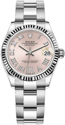 Rolex Datejust 31mm Stainless Steel 278274 Pink VI Oyster