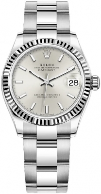 Rolex Datejust 31mm Stainless Steel 278274 Silver Index Oyster