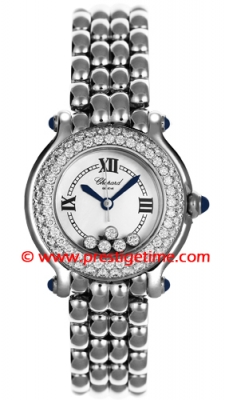Chopard Happy Sport Classic Round 5 Floating Diamonds 278294-2005