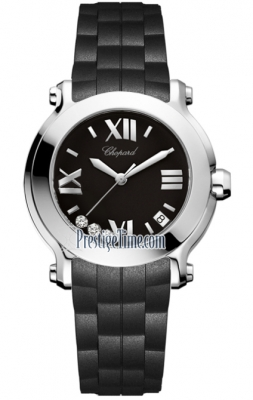Chopard Happy Sport Round Quartz 36mm 278475-3014