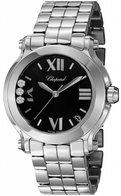 Chopard Happy Sport Round Quartz 36mm 278477-3014