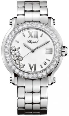 Chopard Happy Sport Round Quartz 36mm 278477-3008