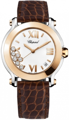 Chopard Happy Sport Round Quartz 36mm 278492-9001