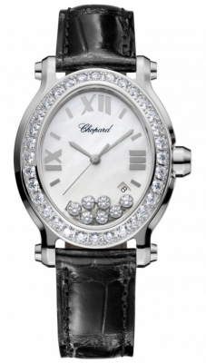 Chopard Happy Sport Oval Quartz 278546-3002