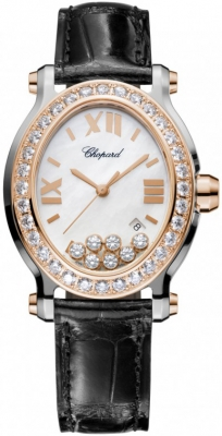 Chopard Happy Sport Oval Quartz 278546-6002