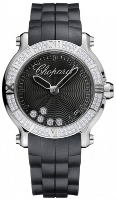 Chopard Happy Sport Round Quartz 36mm 278551-3004
