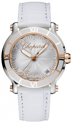 Chopard Happy Sport Round Quartz 36mm 278551-6002