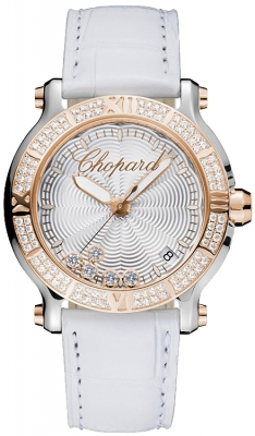Chopard Happy Sport Round Quartz 36mm 278551-6003