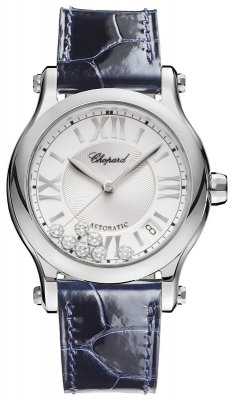 Chopard Happy Sport Medium Automatic 36mm 278559-3001 Blue