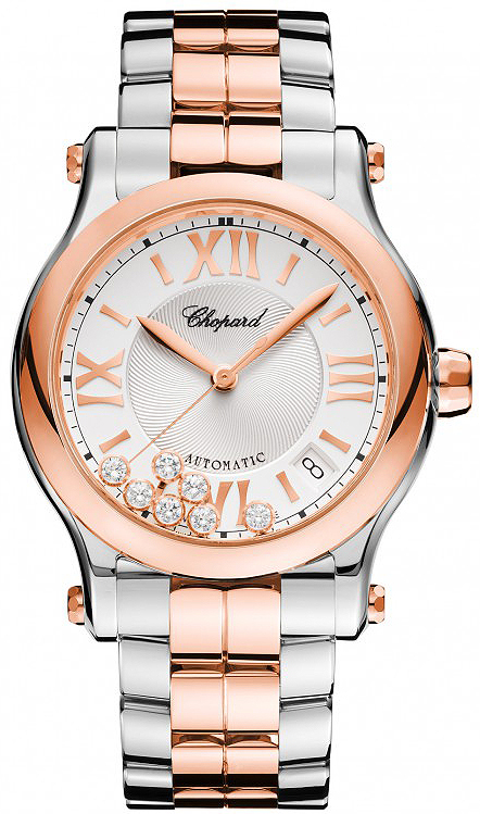 c627e5d7b 278559-6002 Chopard Happy Sport Medium Automatic 36mm Ladies Watch
