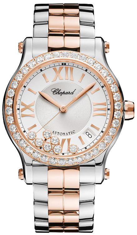 d8f0720eb 278559-6004 Chopard Happy Sport Medium Automatic 36mm Ladies Watch