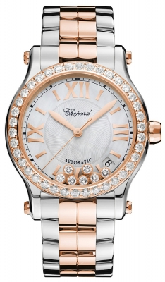 4b37d93cf 278559-6002 Chopard Happy Sport Medium Automatic 36mm Ladies Watch
