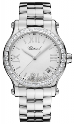 Chopard Happy Sport Round Quartz 36mm 278582-3004
