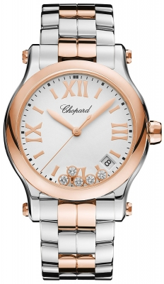 Chopard Happy Sport Round Quartz 36mm 278582-6002