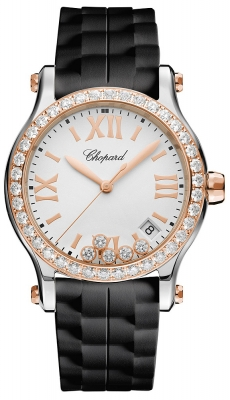 Chopard Happy Sport Round Quartz 36mm 278582-6003