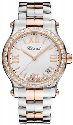 Chopard Happy Sport Round Quartz 36mm 278582-6004