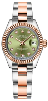 279171 Olive Green Diamond Oyster
