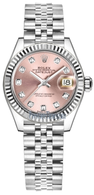Rolex Lady Datejust 28mm Stainless Steel 279174 Pink Diamond Jubilee
