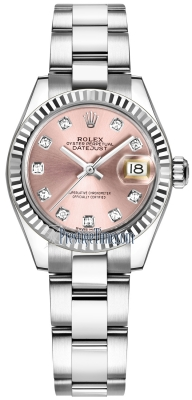 Rolex Lady Datejust 28mm Stainless Steel 279174 Pink Diamond Oyster