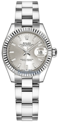 Rolex Lady Datejust 28mm Stainless Steel 279174 Silver Index Oyster
