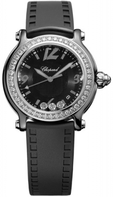 Chopard Happy Sport Ceramic 36mm 288507-9003