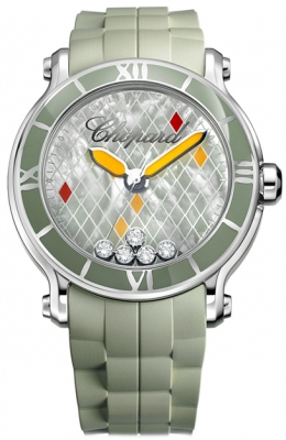Chopard Happy Sport Round Quartz 42mm 288524-3003