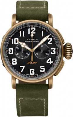 Zenith Pilot Type 20 Chronograph 29.2430.4069/21.c800