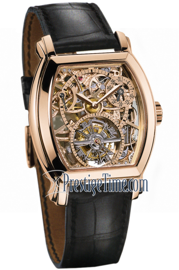 Vacheron Constantin 30067/000r-8954 Malte Tonneau Tourbillon Openworked Mens Watches