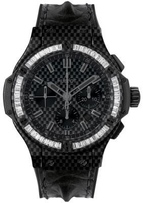 Hublot Big Bang All Carbon Bezel Baguette 44mm 301.qx.1740.hr.1904