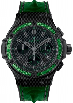 Hublot Big Bang All Carbon Bezel Baguette 44mm 301.qx.1791.hr.1922