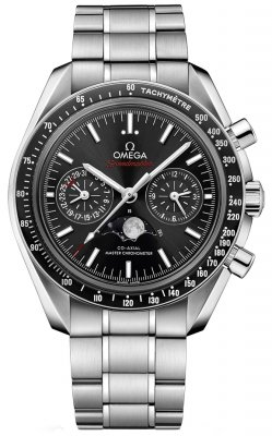 Omega Speedmaster Moonphase Co-Axial Master Chronometer Chronograph 44.25mm 304.30.44.52.01.001