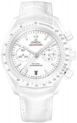 Omega Speedmaster Moonwatch Co-Axial Chronograph 311.93.44.51.04.002 WHITE SIDE OF THE MOON