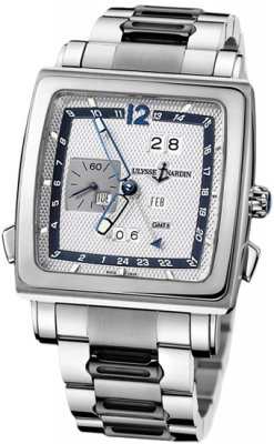 Ulysse Nardin Quadrato Dual Time Perpetual 320-90-8m/61