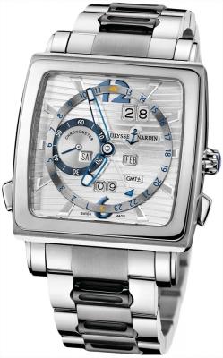 Ulysse Nardin Quadrato Dual Time Perpetual 320-90-8m/91