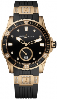 Ulysse Nardin Diver Lady Automatic 40mm 3202-190-3C/12.12